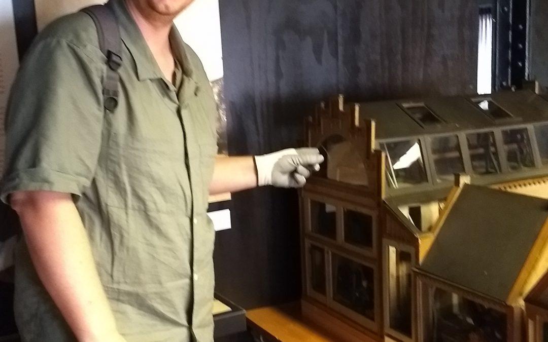 Restauratie glas maquette