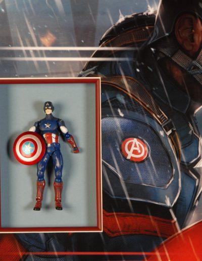 Captain America Lijst detail