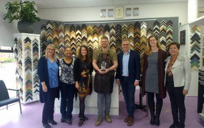 Atelier Horneman ontvangt leden van de Tweede Kamer