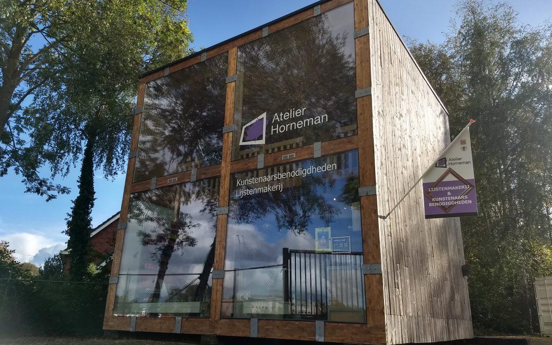 1 jaar Atelier Horneman in Veendam
